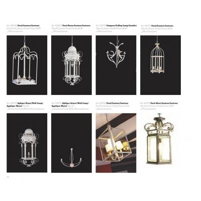 LAMPARAS FANAL COLGANTES